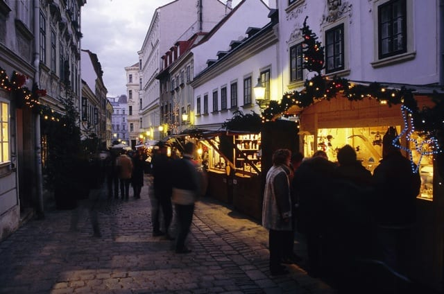 Mercaatino am Spittelberg - Vienna, Austria
