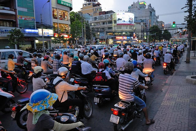 Traffico - Hanoi, Vietnam