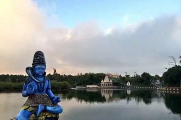 Le Grand Bassin: il lago sacro indù al centro dell'isola di Mauritius.