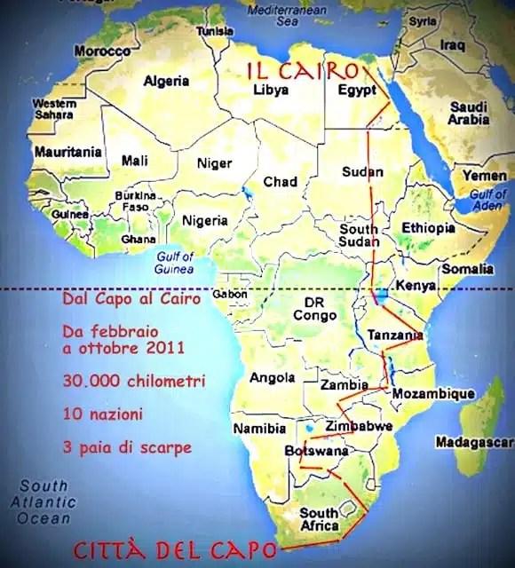 Percorso - Dal Capo al Cairo di Flavio Alagia
