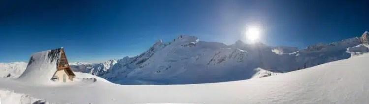 Il ghiacciaio Presena, Comprensorio Adamello SKI - Alpi, Italy
