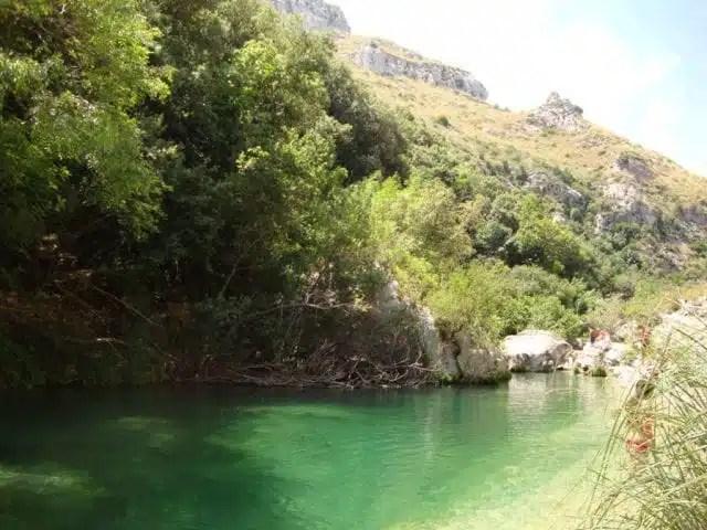 Cava Grande Natural Reserve - Sicily, Italy