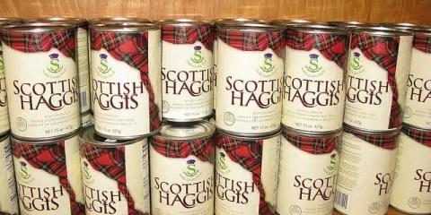 Haggis, cucina tradizionale - Scozia