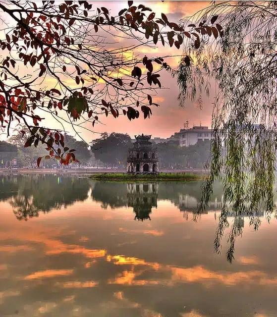 Hanoi, Lago Verde - Vietnam