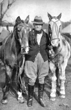 Tschiffely con i suoi cavalli Mancha e Gato - Tschiffely's Ride