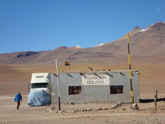 Crossing borders on the road - from Chile to Bolivia