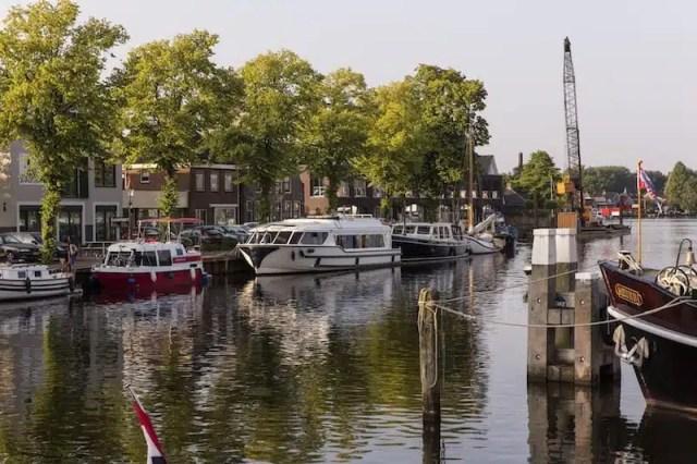 Turismo fluviale in Olanda