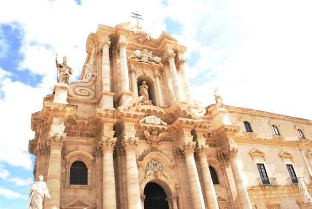 Duomo di Siracusa - Sicilia, Italia