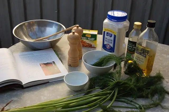 Ingredienti per taralli - Puglia