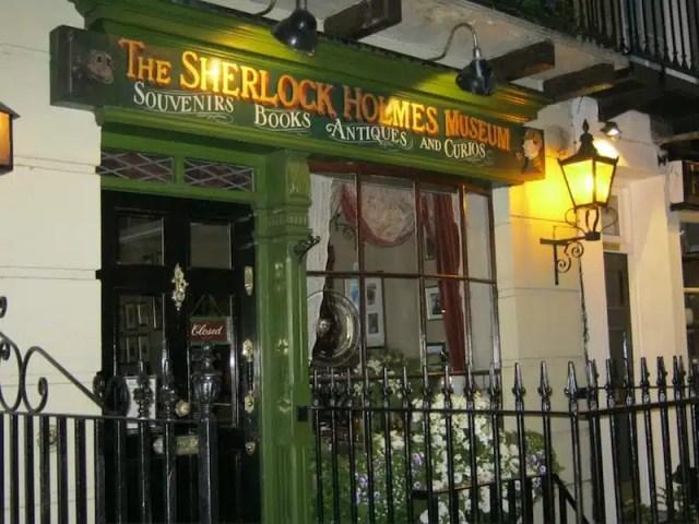 Il museo di Sherlock Holmes - Londra, UK