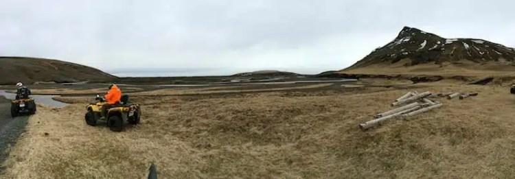 Avventura con i quod in Islanda