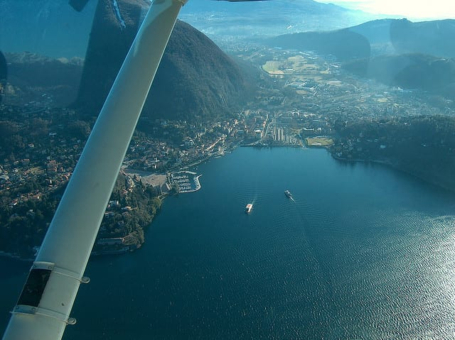 Lago Maggiore - Laveno, Italia