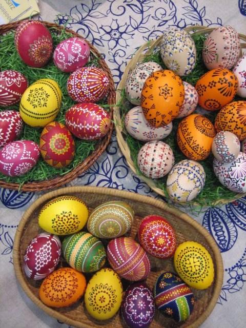 Uova di Pasqua - Bautzen, Lausazia, Germania