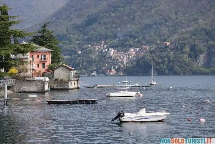 Lago di Como - Moltrasio, Italia