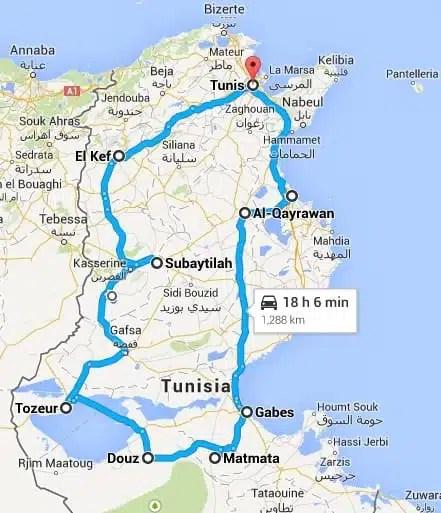 Road trip - Tunisia