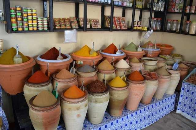 Spezie, suk - Houmt Souk, Djerba, Tunisia