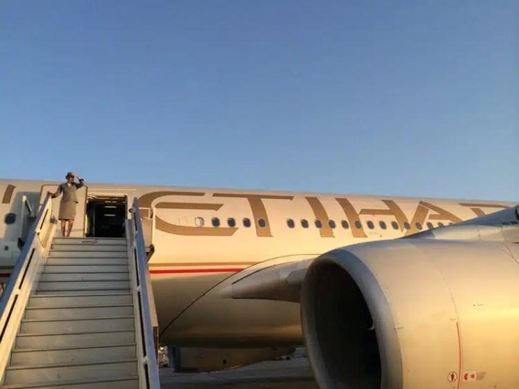 Etihad Airways - In viaggio verso l'Australia