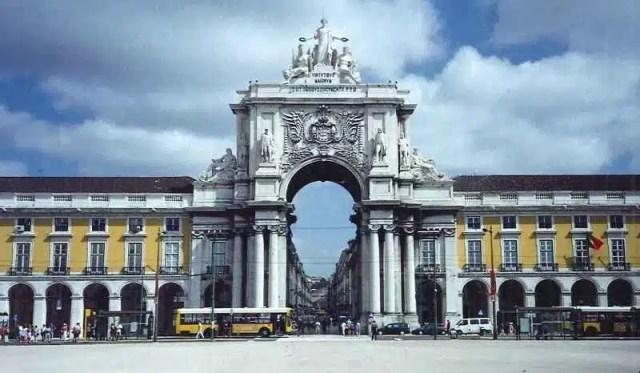 Arco di Trionfo - Lisbona, Portogallo
