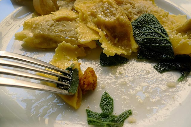 Tortelli di zucca - Mantova, Italia