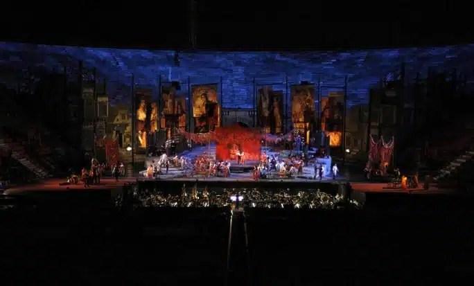Arena di Verona, la Carmen - Foto Ennevi