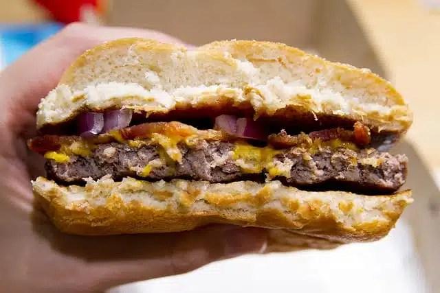 Hamburger, fast food - USA