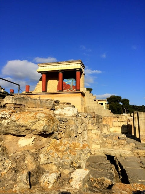 Palace of Knossos - Crete, Island