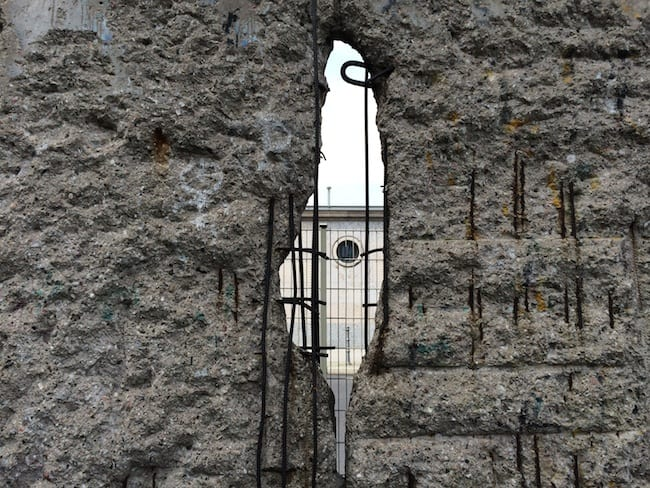 Topographie des Terrors, Muro di Berlino - Germania