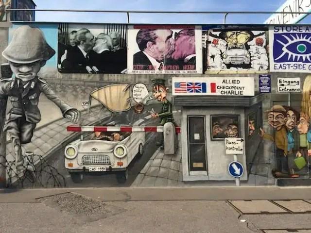 East Side Gallery - Berlino, Germania