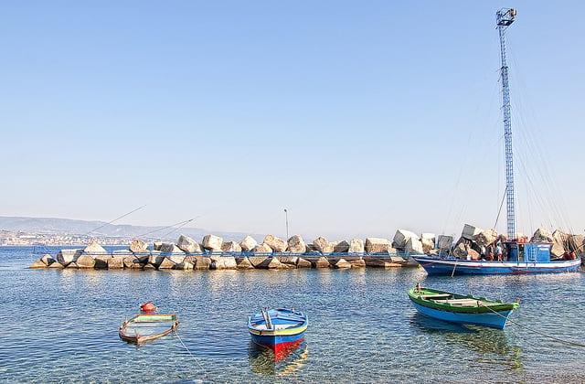Feluca - Messina, Sicilia, Italia