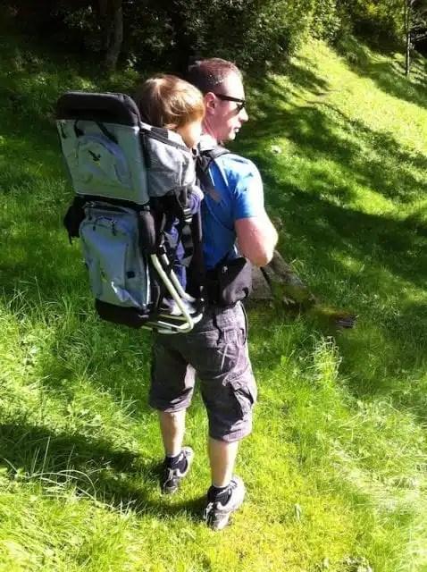 Trekking con bebé