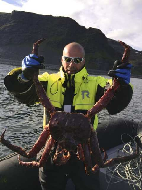 King Crab Safari - Norvegia