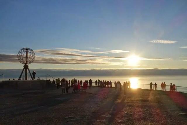 Sole di mezzanotte - Capo Nord, Norvegia
