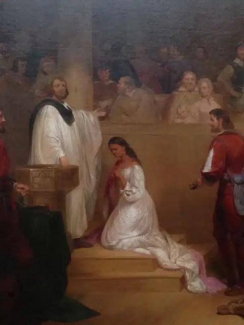 John Chapman, Il battesimo di Pocahontas - Campidoglio, Washington DC, USA