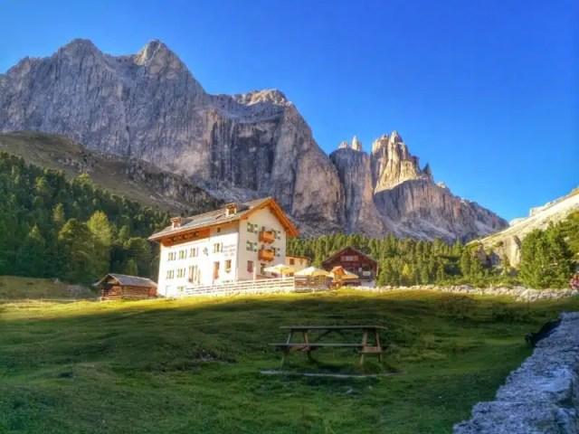 I rifugi del gusto - Gardeccia, Dolomiti