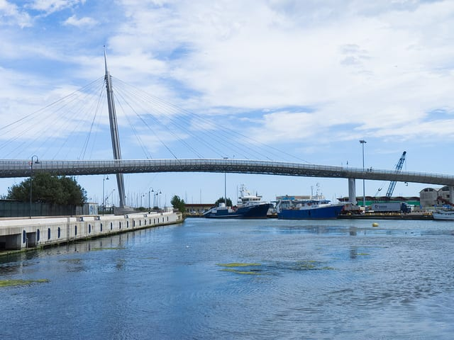 Ponte del Mare - Pescara, Abruzzo, Italia