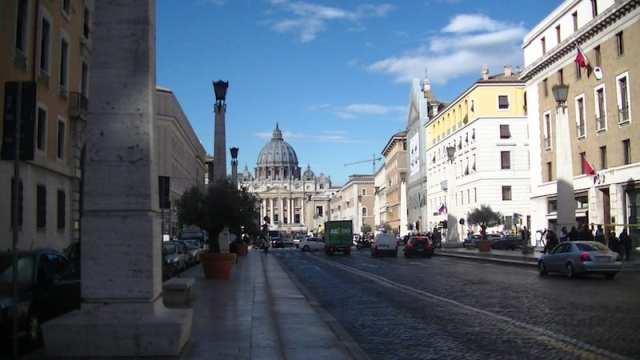 Via della Conciliazione, Roma, Italia