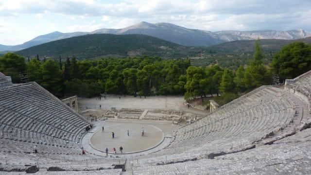Teatro di Epidauro - Grecia
