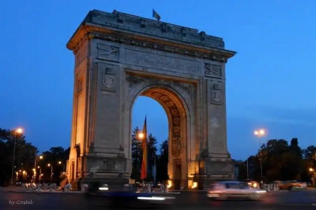Arco di Trionfo - Bucarest, Romania