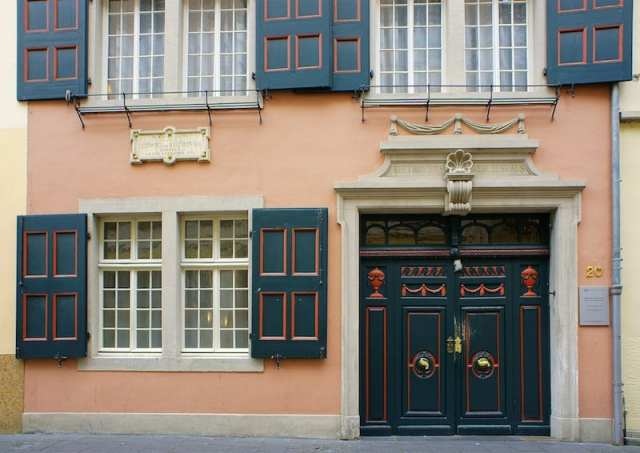 Beethoven Haus - Bonn, Germania
