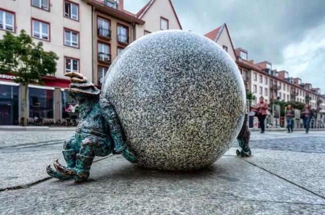 Gnomo Sisifo - Breslavia, Polonia