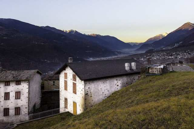 Teglio, Valtellina, Italia