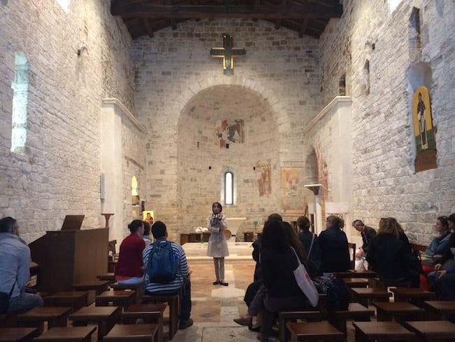 Abbazia di San Benedetto Valledacqua - Acquasanta Terme, Marche