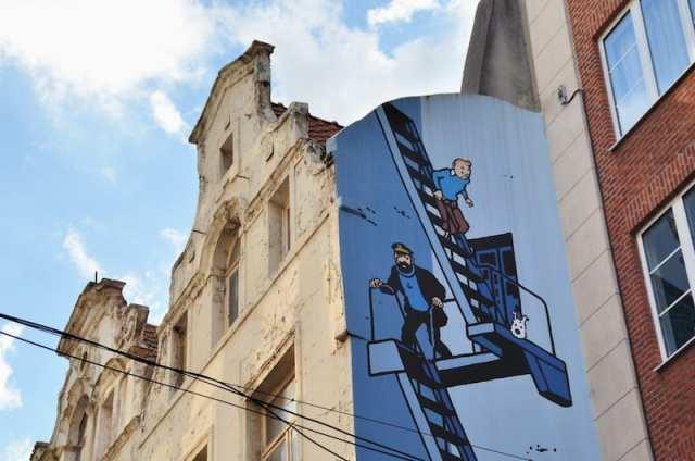 Tintin - Bruxelles, Belgio