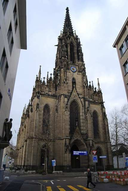 Chiesa di Sant'Elisabetta - Basilea, Svizzera