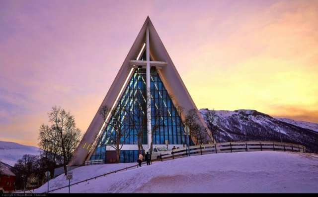 Cattedrale Artica - Tromso, Norvegia