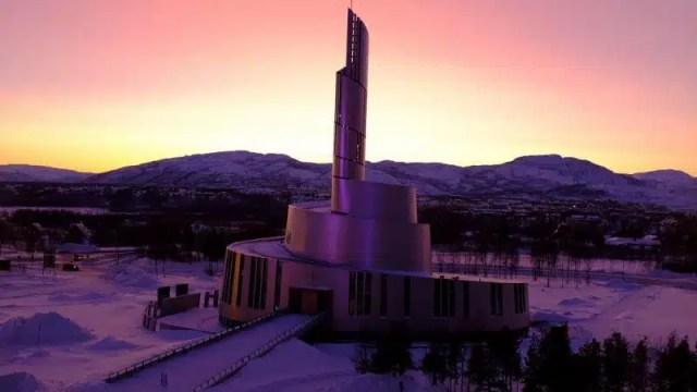 Cattedrale della Luce del Nord - Alta, Norvegia