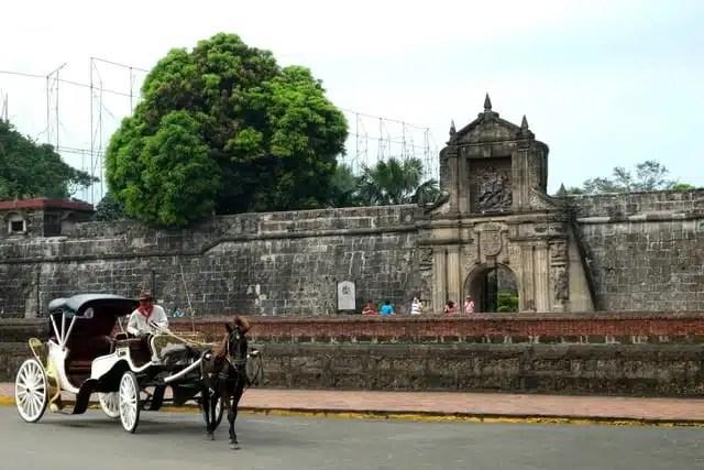 Fort Santiago, Manila, Filippine