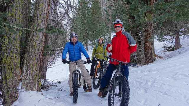Livigno con le Fat Bike