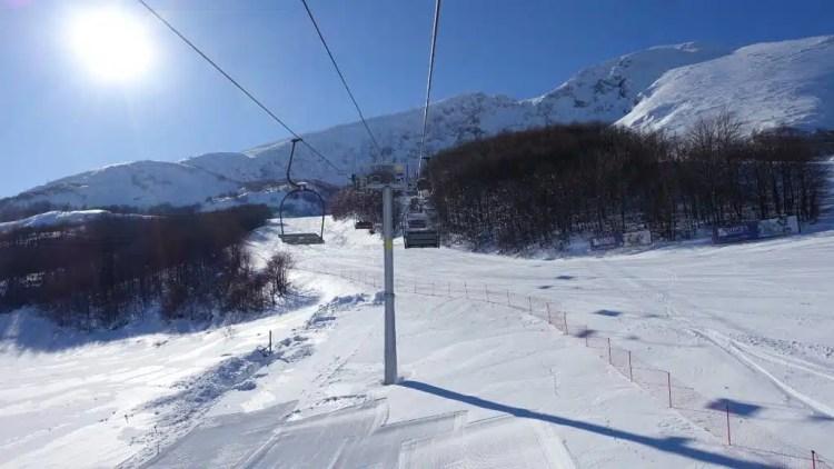 Sciare in Montenegro