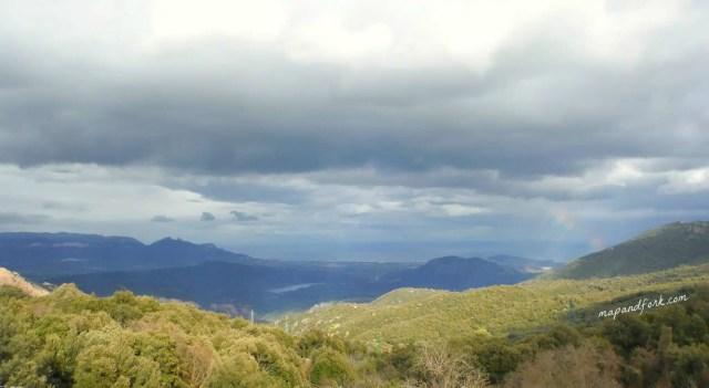 Vista panoramica da Supramonte - Sardegna, Italia